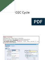 O2C Cycle