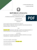 CGA Reintegro Genchi in Polizia