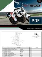 Benelli BN600 Parts Manual