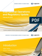20150206-0830-International Regulations and Handling
