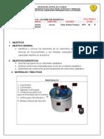 Calorimetría Adiabática (Informe de Laboratorio)