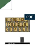 (Mircea Pacurariu) Dictionarul Teologilor Romani