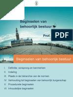 Ppt_bestuursrecht_Lierman_9 (Algemene Beginselen Van Behoorlijk Bestuur en Burgerschap)