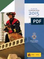 Plan de Formación 2015-Escuela Nacional de Protección Civil