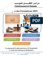 Catalogue Formation CPE 2015