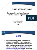 Cb&i - Liquified Gas Storage Tanks