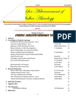JASA 1st Anniversary Issue 2012