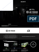 ILCA-77M2 4DFOCUS Camera Settings Guide