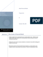 Retail Financial Modeling