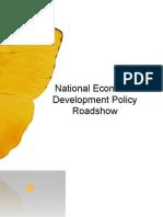 National Economic Dvp Roadshow