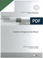 Informe de seguimiento 35-14 GORE Maule
