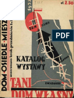 Dom, osiedle, mieszkanie Nr 7-8/1932
