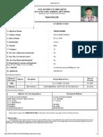 Applicant Print Burnpur