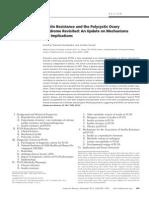 SOP e Insulinoresistencia Endocrine Review