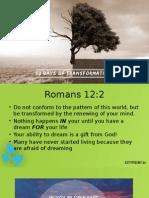 Transformation Facing Giants