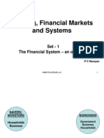 BFMS L01 the Financial System - An Overview