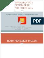 Pembahasan to 1 Batch Februari 2015