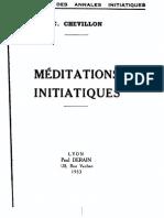 Meditations Initiatiques