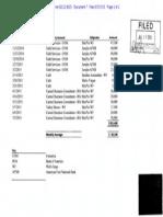 Harold B.J. Gallison Money Deposits Sep-July
