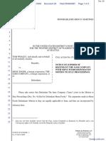 Whaley v. Menu Foods et al - Document No. 20