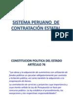 Contratacion en El Peru