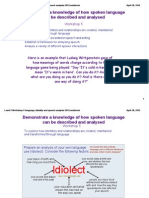 level 5 workshop 5 language identity and speech analysis 2015