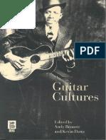 Guitar Cultures - Andy Bennett & Kevin Dawe