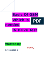Basic of Gsm by Guru