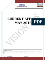 Current Affairsof May 2015