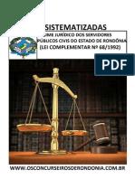 Regime Jurídico Dos Servidores Públicos Civis Do Estado de Rondônia (Lei Complementar Nº 68_1992)