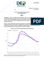 Florida employment & unemployment release (full release)