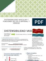 Distensibilidad Vascular