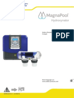 FR MANUAL MagnaPool Hydroxinator20150715