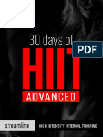 30 Days of Hiit Advanced