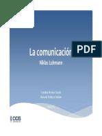 Comunicación (Luhmann)