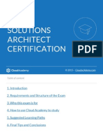 Cloud Academys Preparation Guide for AWS Solutions Architect Certification