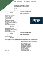 DOW JONES REUTERS BUSINESS INTERACTIVE, LLC v. ABLAISE LTD. et al - Document No. 29