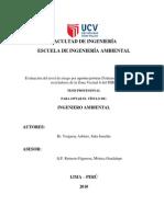 Evaluación Del Nivel de Riesgo Por Agentes Químicos