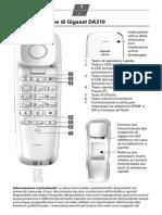 Siemens Gigaset telefono fisso guida utente