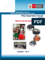 Plan Operativo Anual 2012 Sandia