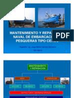 Mantenimiento y Reparacion Naval de Buques Pesqueros