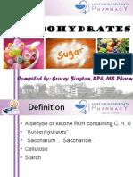 CARBOHYDRATES for Biochem Lab-1