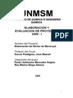 Proyecto Elaboracion de Nectar de Maracuya 140205192142 Phpapp01 (1)