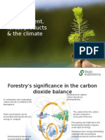Forest Management, Forest Products & the Climate