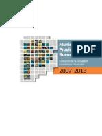 Libro Municipios PB 2007-2013
