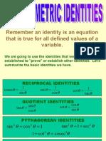 Trigonometric Identities