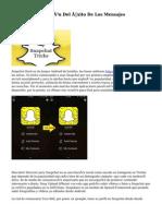 Snapchat Y La Razón Del Éxito De Los Mensajes Autodestructibles