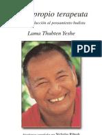 Se Tu Propio Terapeuta. Lama Thubten Yeshe