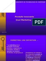 Produits Innovants Quel Marketing ?