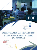 Benchmark on Readiness for Open Agency Data